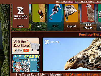 Tulsa Zoo and Living Museum